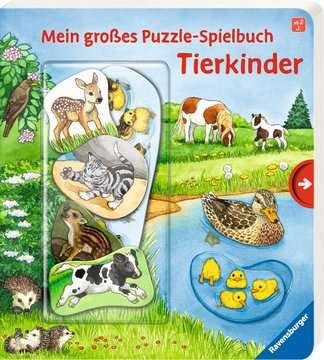 43812 Babybücher und Pappbilderbücher Mein großes Puzzle-Spielbuch: Tierkinder von Ravensburger 2