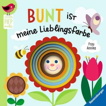 43817 Babybücher und Pappbilderbücher Bunt ist meine Lieblingsfarbe von Ravensburger 1