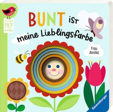 43817 Babybücher und Pappbilderbücher Bunt ist meine Lieblingsfarbe von Ravensburger 2