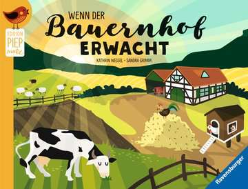 43818 Babybücher und Pappbilderbücher Wenn der Bauernhof erwacht von Ravensburger 1