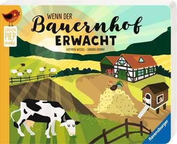 43818 Babybücher und Pappbilderbücher Wenn der Bauernhof erwacht von Ravensburger 2