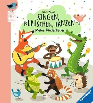 43819 Babybücher und Pappbilderbücher Singen, Klatschen, Tanzen: Meine Kinderlieder von Ravensburger 1