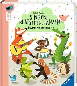 43819 Babybücher und Pappbilderbücher Singen, Klatschen, Tanzen: Meine Kinderlieder von Ravensburger 2