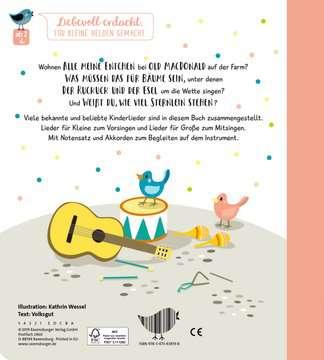 43819 Babybücher und Pappbilderbücher Singen, Klatschen, Tanzen: Meine Kinderlieder von Ravensburger 3