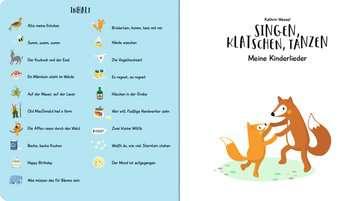 43819 Babybücher und Pappbilderbücher Singen, Klatschen, Tanzen: Meine Kinderlieder von Ravensburger 4