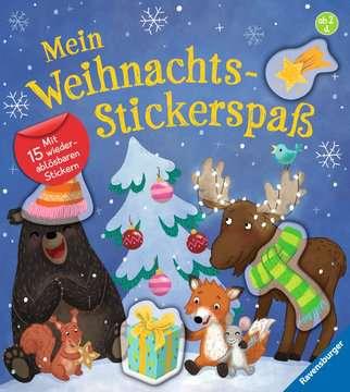 43822 Babybücher und Pappbilderbücher Mein Weihnachts-Stickerspaß von Ravensburger 1