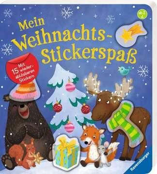 43822 Babybücher und Pappbilderbücher Mein Weihnachts-Stickerspaß von Ravensburger 2