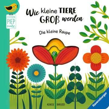 43827 Bücher Wie kleine Tiere groß werden: Die kleine Raupe von Ravensburger 1