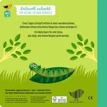 43827 Bücher Wie kleine Tiere groß werden: Die kleine Raupe von Ravensburger 4