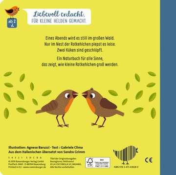 43828 Bücher Wie kleine Tiere groß werden: Die kleinen Rotkehlchen von Ravensburger 3