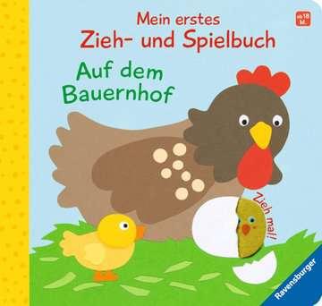 43831 Babybücher und Pappbilderbücher Mein erstes Zieh- und Spielbuch: Auf dem Bauernhof von Ravensburger 1
