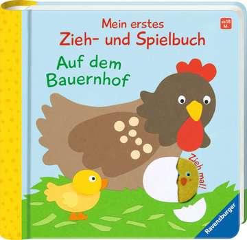 43831 Babybücher und Pappbilderbücher Mein erstes Zieh- und Spielbuch: Auf dem Bauernhof von Ravensburger 2