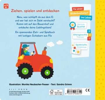 43831 Babybücher und Pappbilderbücher Mein erstes Zieh- und Spielbuch: Auf dem Bauernhof von Ravensburger 3