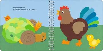 43831 Babybücher und Pappbilderbücher Mein erstes Zieh- und Spielbuch: Auf dem Bauernhof von Ravensburger 6