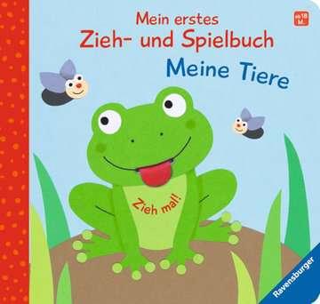 43832 Babybücher und Pappbilderbücher Mein erstes Zieh- und Spielbuch: Meine Tiere von Ravensburger 1