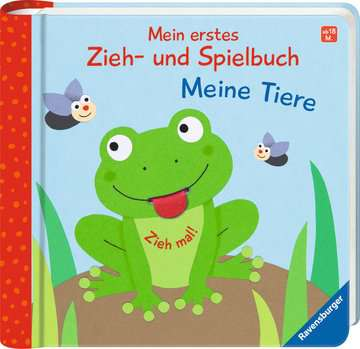 43832 Babybücher und Pappbilderbücher Mein erstes Zieh- und Spielbuch: Meine Tiere von Ravensburger 2
