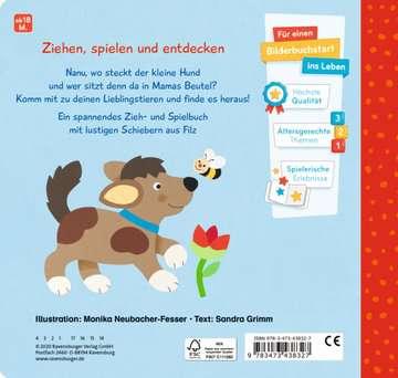 43832 Babybücher und Pappbilderbücher Mein erstes Zieh- und Spielbuch: Meine Tiere von Ravensburger 3