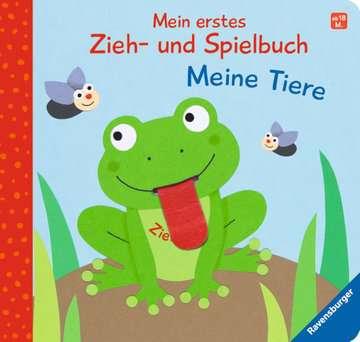 43832 Babybücher und Pappbilderbücher Mein erstes Zieh- und Spielbuch: Meine Tiere von Ravensburger 4
