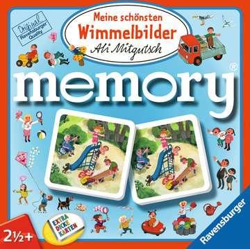 43833 Kinderspiele Meine schönsten Wimmelbilder memory® von Ravensburger 1