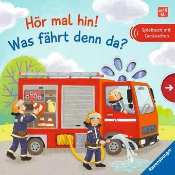 43834 Babybücher und Pappbilderbücher Hör mal hin! Was fährt denn da? von Ravensburger 1