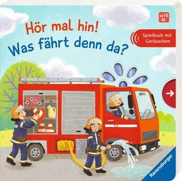 43834 Babybücher und Pappbilderbücher Hör mal hin! Was fährt denn da? von Ravensburger 2