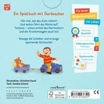 43834 Babybücher und Pappbilderbücher Hör mal hin! Was fährt denn da? von Ravensburger 4