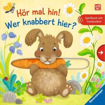 43835 Babybücher und Pappbilderbücher Hör mal hin! Wer knabbert hier? von Ravensburger 1
