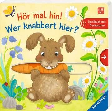 43835 Babybücher und Pappbilderbücher Hör mal hin! Wer knabbert hier? von Ravensburger 2