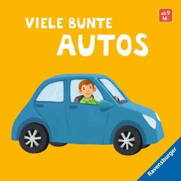 43836 Babybücher und Pappbilderbücher Viele bunte Autos von Ravensburger 1