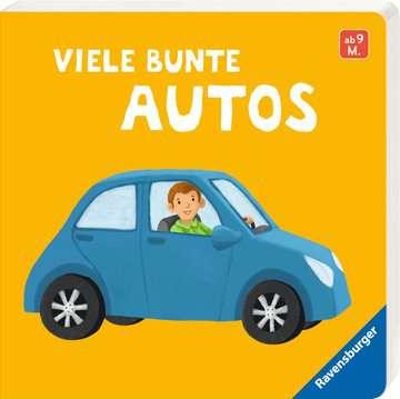 43836 Babybücher und Pappbilderbücher Viele bunte Autos von Ravensburger 2