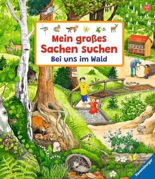 43843 Babybücher und Pappbilderbücher Mein großes Sachen suchen: Bei uns im Wald von Ravensburger 1