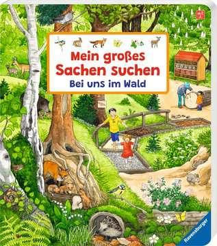 43843 Babybücher und Pappbilderbücher Mein großes Sachen suchen: Bei uns im Wald von Ravensburger 2