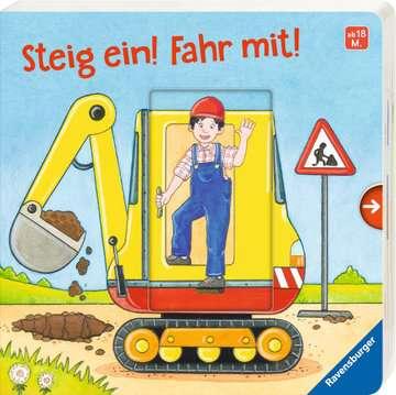43845 Babybücher und Pappbilderbücher Steig ein! Fahr mit! von Ravensburger 2