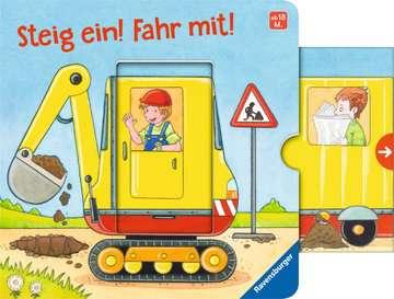 43845 Babybücher und Pappbilderbücher Steig ein! Fahr mit! von Ravensburger 5