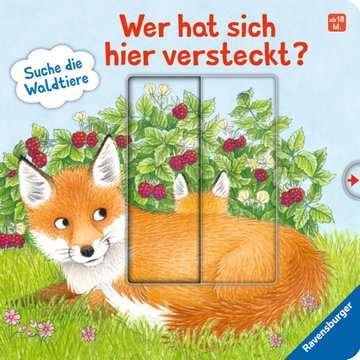 43846 Babybücher und Pappbilderbücher Wer hat sich hier versteckt? Suche die Waldtiere von Ravensburger 1