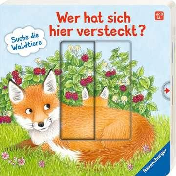 43846 Babybücher und Pappbilderbücher Wer hat sich hier versteckt? Suche die Waldtiere von Ravensburger 2