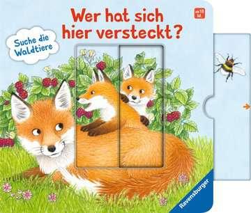 43846 Babybücher und Pappbilderbücher Wer hat sich hier versteckt? Suche die Waldtiere von Ravensburger 9