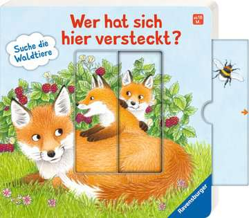 43846 Babybücher und Pappbilderbücher Wer hat sich hier versteckt? Suche die Waldtiere von Ravensburger 10