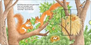 43846 Babybücher und Pappbilderbücher Wer hat sich hier versteckt? Suche die Waldtiere von Ravensburger 11
