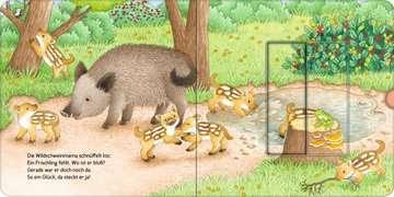 43846 Babybücher und Pappbilderbücher Wer hat sich hier versteckt? Suche die Waldtiere von Ravensburger 14
