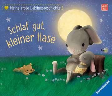 43852 Babybücher und Pappbilderbücher Meine erste Lieblingsgeschichte: Schlaf gut, kleiner Hase von Ravensburger 1