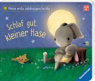 43852 Babybücher und Pappbilderbücher Meine erste Lieblingsgeschichte: Schlaf gut, kleiner Hase von Ravensburger 2