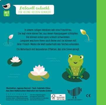 43860 Babybücher und Pappbilderbücher Wie kleine Tiere groß werden: Der kleine Frosch von Ravensburger 3