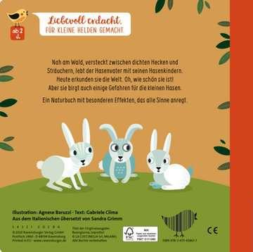 43861 Babybücher und Pappbilderbücher Wie kleine Tiere groß werden: Der kleine Hase von Ravensburger 3