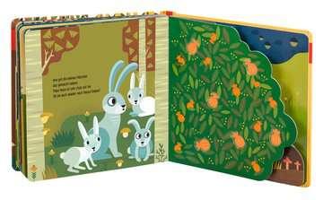43861 Babybücher und Pappbilderbücher Wie kleine Tiere groß werden: Der kleine Hase von Ravensburger 6