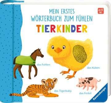 43866 Babybücher und Pappbilderbücher Mein erstes Wörterbuch zum Fühlen: Tierkinder von Ravensburger 2