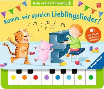 43888 Babybücher und Pappbilderbücher Komm, wir spielen Lieblingslieder! Mein erstes Klavierbuch von Ravensburger 1