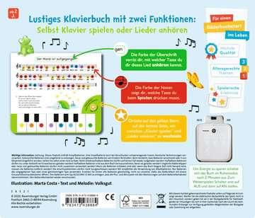 43888 Babybücher und Pappbilderbücher Komm, wir spielen Lieblingslieder! Mein erstes Klavierbuch von Ravensburger 3