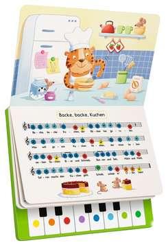 43888 Babybücher und Pappbilderbücher Komm, wir spielen Lieblingslieder! Mein erstes Klavierbuch von Ravensburger 5
