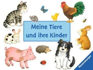 43969 Bilderbücher und Vorlesebücher Meine Tiere und ihre Kinder von Ravensburger 1